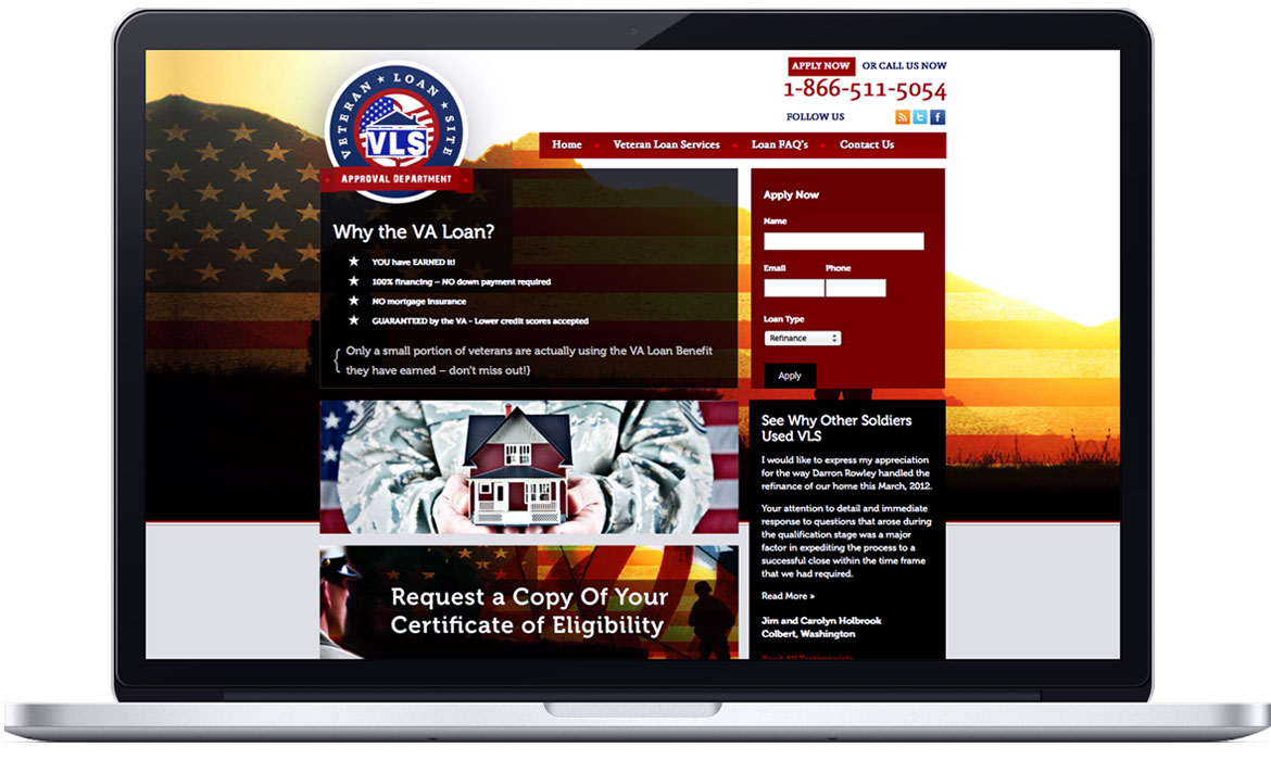 Veteran Loan Site